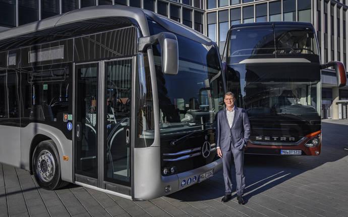 Éxito de ventas de Daimler Buses en 2018, y buenas expectativas para 2019