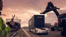 Volvo Trucks presenta el Vera entre un centro logístico y un puerto