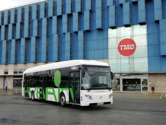 Transports Metropolitans de Barcelona prueba el Veris de Vectia