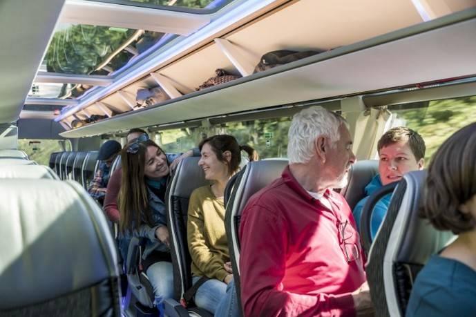 La demanda de usuarios del autobús mantiene su crecimiento