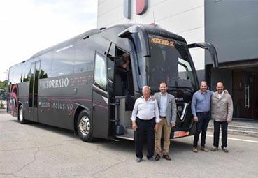 Nogebus entrega una nueva unidad a Autocares Victor Bayo