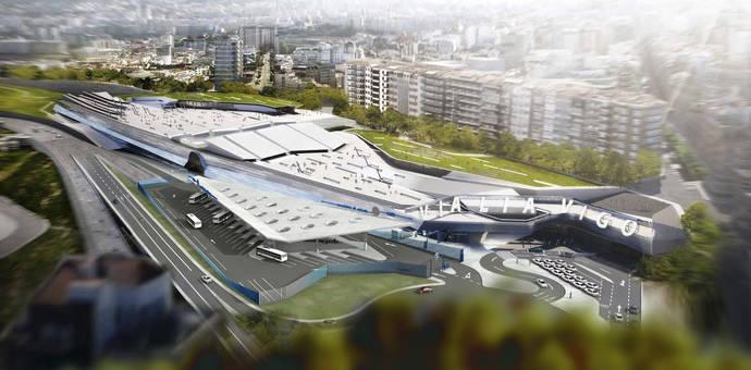 La Xunta recuerda que Vigo aprobó la nueva estación de autobuses intermodal