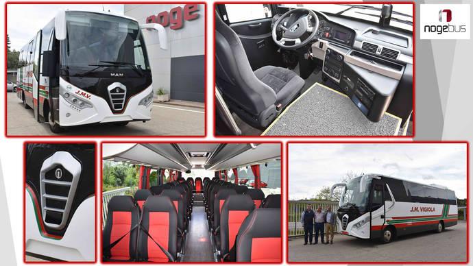 El nuevo autocar de J. M. Vigiola.