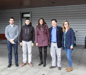 Una delegación de Tuvisa visita Dbus