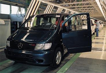 Se cumplen 25 años de la primera Mercedes Vito en la planta de Vitoria