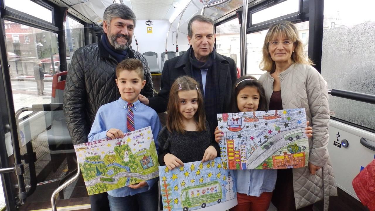 El Consejo de Vigo y Vitrasa <span class='titnoticia'> 'educan' </span>a los usuarios de autobús