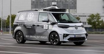 La conducción autónoma basada en el ID. BUZZ usan una combinación de cámaras, radares y sensores lidar