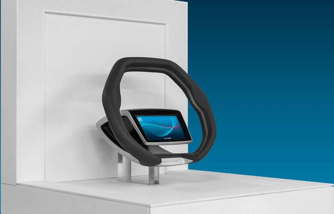 ZF desarrolla un nuevo concepto de volante avanzado