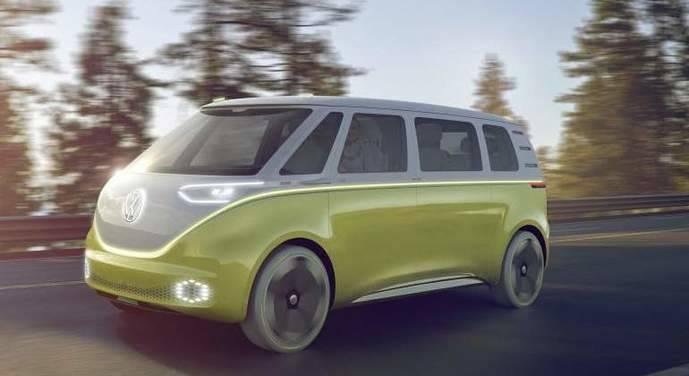 Volkswagen presenta el I.D. Buzz en el NAIAS 2017 de Detroit