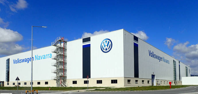 Volkswagen Navarra. Planta.