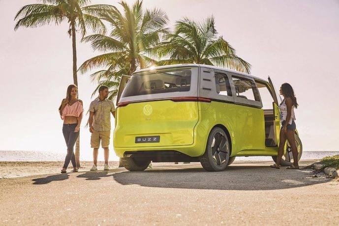 Volkswagen presenta el modelo I.D. Buzz* en Europa