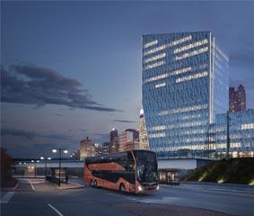 Volvo Buses lanza su nuevo autobús de dos pisos para operaciones exprés