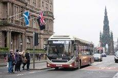 Gran demanda de los buses híbridos eficientes de Volvo