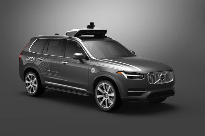Volvo Cars y Uber desarrollan vehículos autónomos