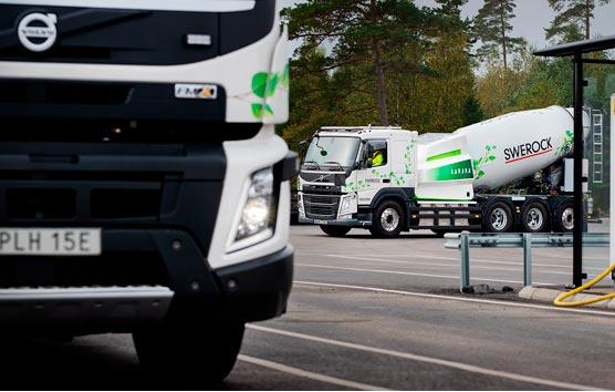 Volvo Trucks comienza las pruebas de camiones de construcción eléctricos