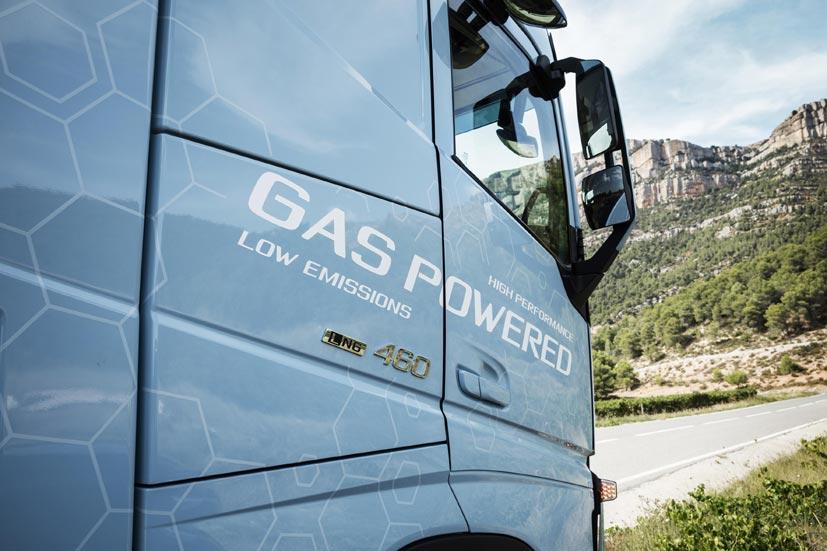 Galardonado el Volvo de GNL