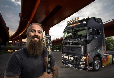 """Björn Gelotte diseña el camión """"Swedish Metal"""" de Volvo Trucks"""