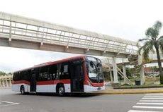Santiago recibe 120 nuevos autobuses Volvo