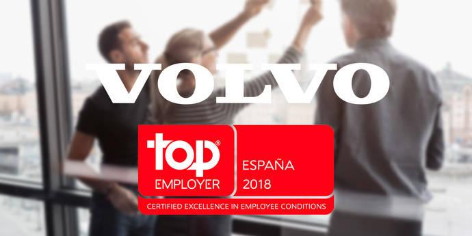 Volvo España y Financial Services son 'Top Employers'