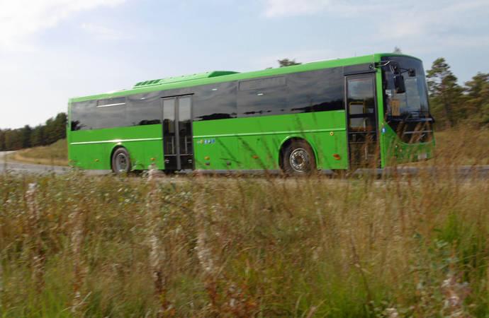 Nuevo autobús completo 100% Volvo: el 8600