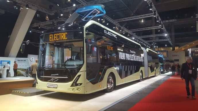Busworld muestra multitud de novedades de las principales marcas