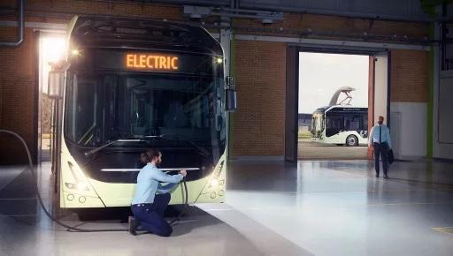 Volvo ofrece un compromiso de energía para los autobuses eléctricos