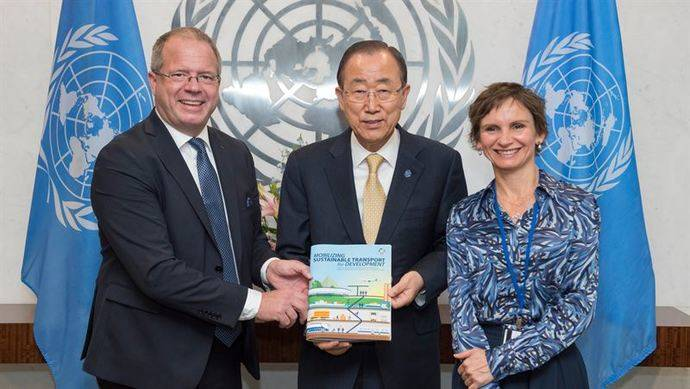 El Grupo Volvo presenta recomendaciones para un transporte sostenible