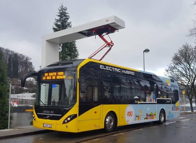 Volvo Buses Bélgica recibe un pedido de 90 autobuses eléctricos