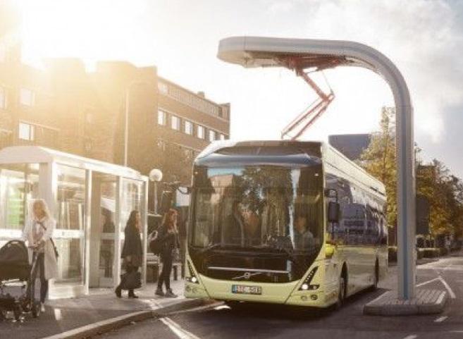 Cuatro nuevos autobuses eléctricos Volvo más para Luxemburgo