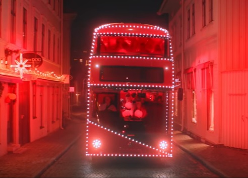 Volvo Buses felicita la Navidad con un video muy especial