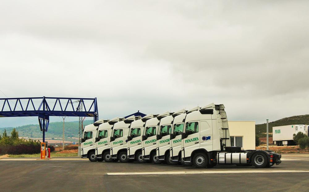 Transportes Penades e Hijos adquiere ocho Volvo FH 500T