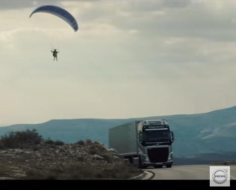 Nueva prueba en Vivo de Volvo Trucks las montañas de Croacia