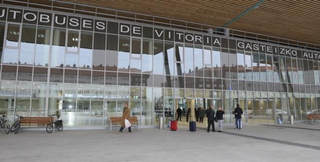 La estación de autobuses de Vitoria lanza viajes a las sidrerías