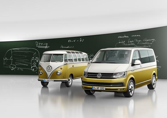 Se cumplen 70 años de la creación del primer Volkswagen Transporter