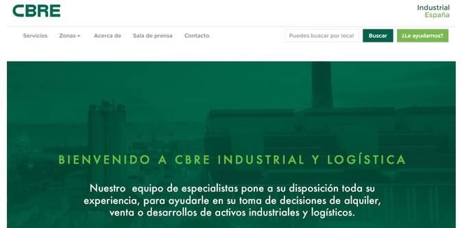 CBRE lanza nueva página web de activos industriales y logísticos