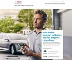 Bosch Automotive Aftermarket estrena página web