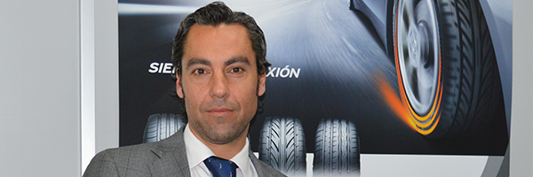 Emilio Santisteban, nuevo director de Marketing y Ventas de Hankook Iberia