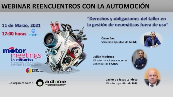 Motormeetings by Motortec sigue con sus webinars