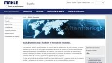 Web de la compañía Mahel