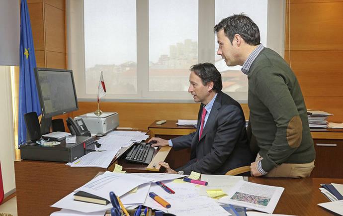 Cantabria confía en iniciar en esta legislatura la reparación de la carretera que une Arroyo con Bustidoño (Valdeprado del Río)
