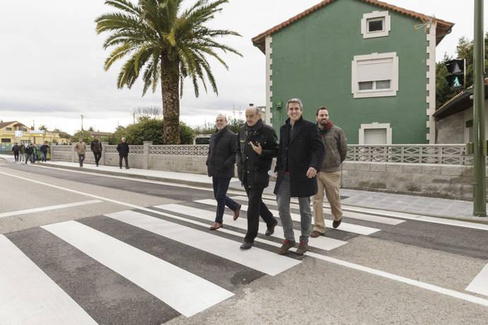 Cantabria invierte 217.752 euros en la mejora de la glorieta de Mompía
