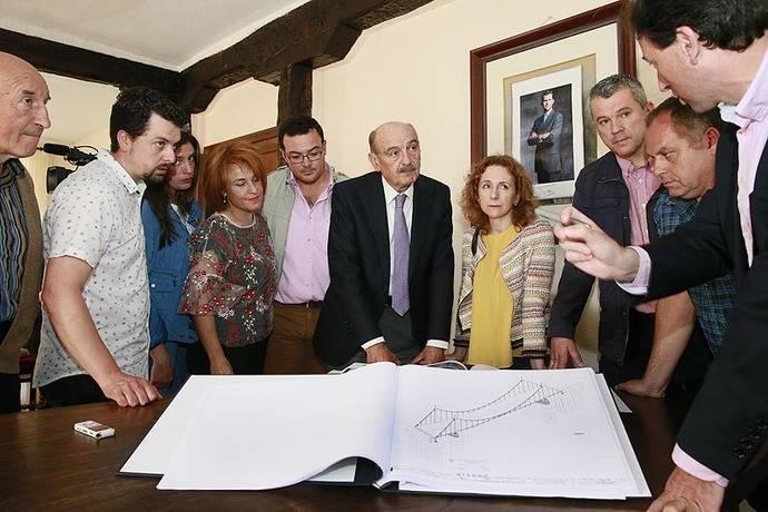 Cantabria licita el nuevo puente de Virgen de la Peña, con un presupuesto superior a los cinco millones de euros