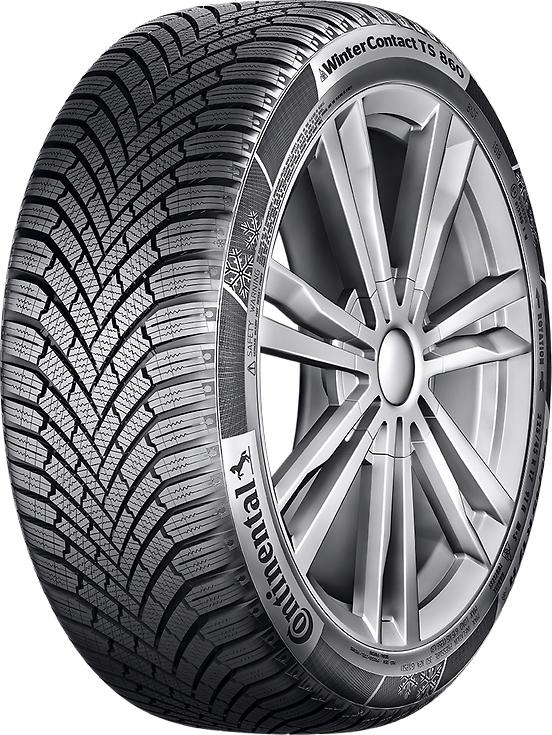 Los neumáticos de invierno Continental copan el podio en los test de ADAC