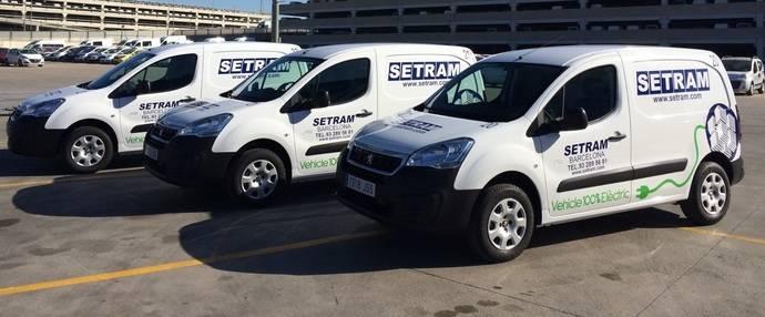 Setram incorpora vehículos eléctricos al puerto de Barcelona