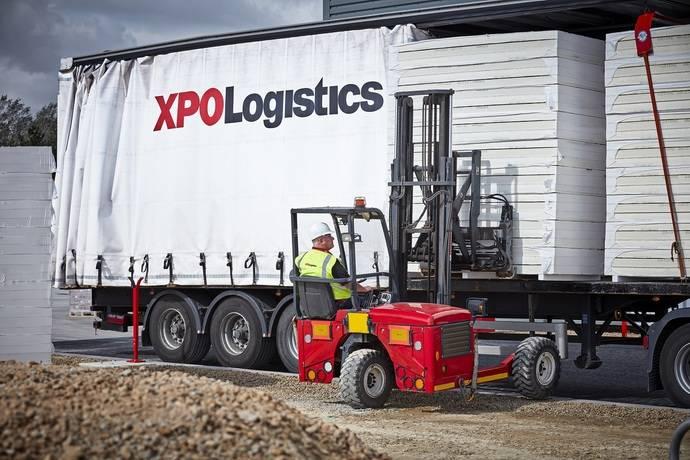 XPO Logistics proporciona a Etex una solución integral de transporte para todo UK