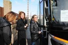 Incremento del uso de interurbanos en Galicia