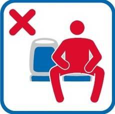 Icono que incorporarán los autobuses