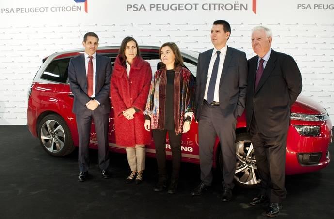El autónomo de PSA recorre el trayecto Vigo-Madrid