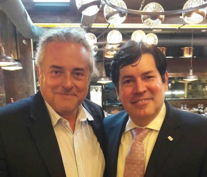 Reunión de trabajo entre los presidentes de Feteia-Oltra y Alacat