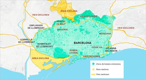 El transporte de mercancías, contra la ZBE de Barcelona